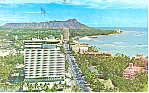 Top of Waikiki Restaurant  Hawaii  Postcard p16289 (Image1)