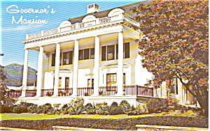 Juneau AK Governor's Mansion Postcard (Image1)
