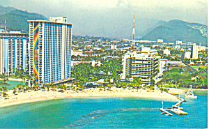 Hilton Hawaiian Village Hawaii Postcard P16290