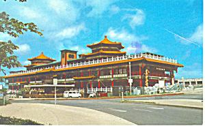 The Oceania Restaurant Hawaii  Postcard p16293 (Image1)
