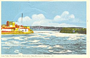 Reversing Falls, New Brunswick  Postcard (Image1)
