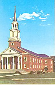 Coffman Chapel Frederick MD Postcard p16344 1970 (Image1)