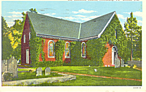 Old Blanford Church, Petersburg, Va Postcard 1945