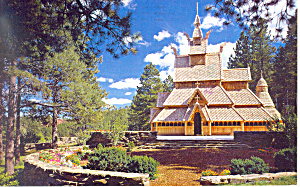 Chapel In Hills Rapid City Sd Postcard P16354 1989