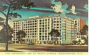 Gramercy Inn Washington DC Postcard p16355 (Image1)