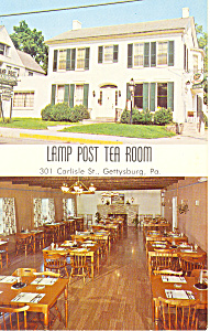 Lamp Post Tea Room Gettysburg  PA p16356 (Image1)