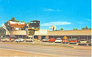Pioneer Village Minden NE Postcard p16388 Cars 50s (Image1)