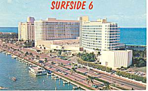 Miami Beach,FL, Fontainebleau Postcard (Image1)