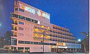 Ft  Lauderdale FL Yankee Clipper Motel Postcard p16421 (Image1)