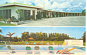 All States Motel Clearwater Florida Postcard P16477