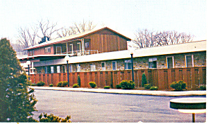 Mansfield Motel, Mansfield, PA Postcard (Image1)