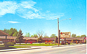 Brandin Iron Motel Denver Co Postcard P16493