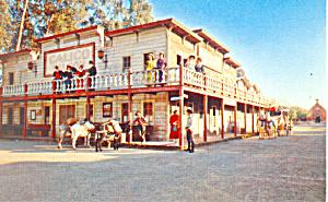 Calico Saloon,Knotts Berry Farm, CA Postcard p16528 (Image1)