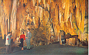 The Ballroom Luray Caverns VA Postcard p16540 (Image1)