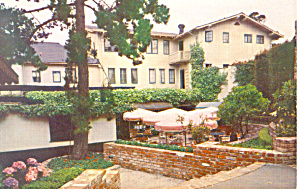 Pine Inn, Carmel by the Sea,CA Postcard (Image1)