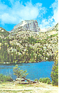 Rocky Mountain National Park CO Postcard p16572 (Image1)