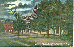 Laurel House Catskill Mountains NY Postcard p16604 (Image1)
