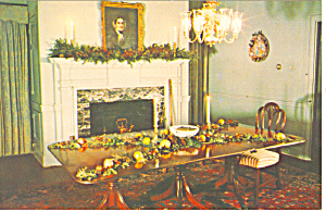 John Holmes House Dining Room, Cape May, NJ Postcard (Image1)