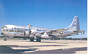 Ohio Air National Guard KC 97L Postcard p16652 (Image1)