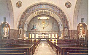 Shrine St Elizabeth Seton  Emmitsburg  MD   Postcard p16668 (Image1)