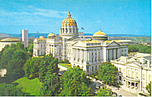 State Capitol,Harrisburg, PA  Postcard (Image1)