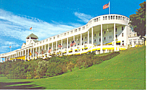 Grand Hotel Mackinac Island Michigan  Postcard p16709 (Image1)