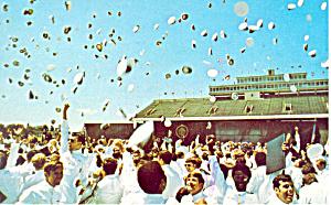 Graduation US Naval Academy Annapolis  MD Postcard p16716 (Image1)