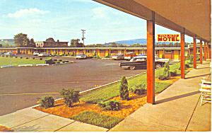 Penn Alto Motel, Duncansville, PA Postcard (Image1)