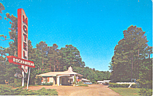 Motel Rochambeau  Williamsburg VA Postcard p16773 (Image1)