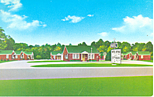 Harvey's Motel, Petersburg, Virginia Postcard (Image1)