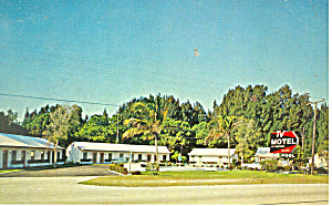 TV Motel, US 1, Stuart, Florida Postcard (Image1)