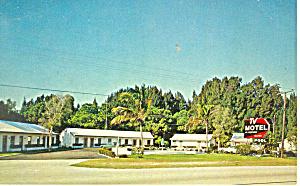 TV Motel US 1 Stuart Florida Postcard p16785 (Image1)