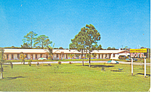 Breezewood Acres Motel Ft Myers  Florida Postcard p16788 (Image1)