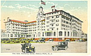 New Montery Hotel  Asbury Park  NJ Postcard p16799 1922 (Image1)