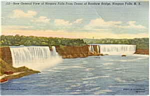 Niagara Falls General View Postcard p1679 (Image1)
