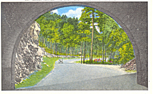 Tunnel, Great Smoky Mountains National Park Postcard (Image1)