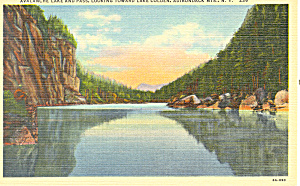Avalanche Lake and Pass Adirondacks NY.Postcard p16820 (Image1)