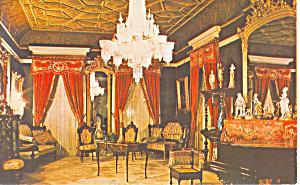 Asa Packer Mansion Jim Thorpe PA Postcard p16872 (Image1)