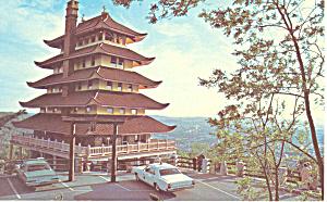 The Pagoda Reading PA Postcard p16873 (Image1)