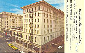 Sheraton Charles Hotel New Orleans LA Postcard p16878 (Image1)