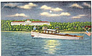 Grand Hotel Mackinac Island MI Postcard p16889 1953 (Image1)