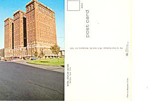 Hotel Statler Hilton  Buffalo New York Postcard p16904 (Image1)
