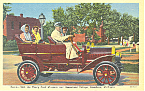1908 Buick Greenfield Village Dearborn MI Postcard p16919 (Image1)