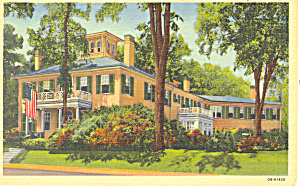Governor's Residence, Augusta,Maine Postcard (Image1)