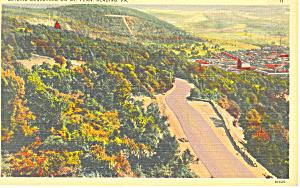Skyline Boulevard Reading PA Postcard p16946 (Image1)