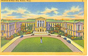 Museum of Fine Arts Boston MA Postcard p16965 (Image1)