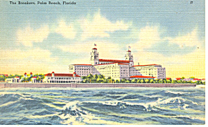 The Breakers Palm Beach Florida Postcard p16972 (Image1)