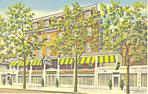 Hotel Park Central Atlantic City New Jersey Postcard p16978 (Image1)