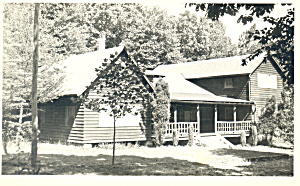 Cabin In The Woods Rppc Postcard P16984