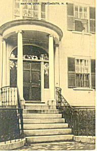 Marvin Door,Portsmouth,New Hampshire  Postcard (Image1)